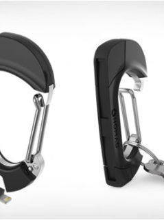 NomadClip Carabiner With USB Cable 1