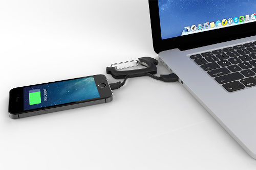 NomadClip Carabiner With USB Cable 2