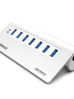 Notable Discount On ORICO M3H7 Aluminum Super Speed 7 Ports USB 1