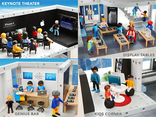 PLAYMOBIL(TM) Apple Store Playset 3