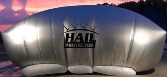 Patented Hail Protection System