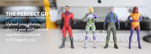 Personalized Superhero Figurines 2