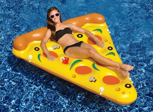 Pizza Slice Inflatable Pool Float 1