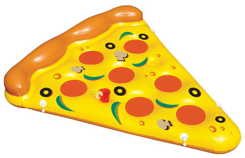 Pizza Slice Inflatable Pool Float 2