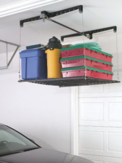 Racor Cable-Lifted Storage Rack 1