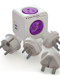 ReWirable USB & 4 Travel Plugs 1