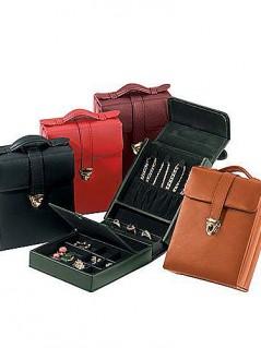 Royce Leather Ladies' Pocketbook Jewelry Case