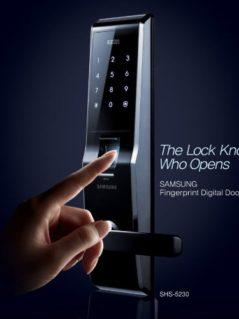 SAMSUNG Fingerprint Digital Door Lock 2