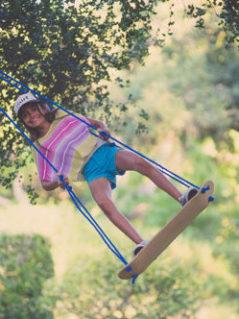 Skateboard Swing 1