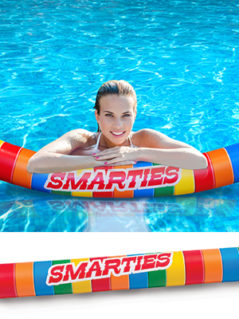 Smarties Pool Float