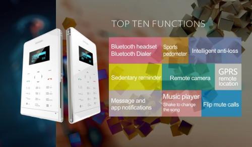 Soyes One - Slim Card Phone 1