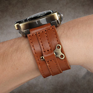 Steampunk-styled Tesla analog watch 4