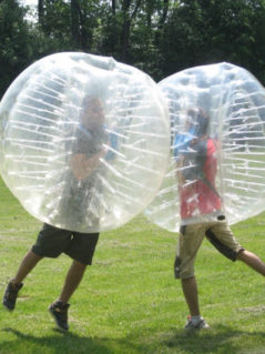 Super Discount On Bubble Soccer Balls 1