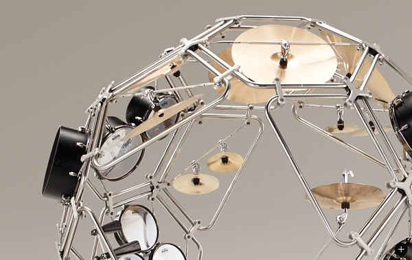 The Raijin drum kit prototype 2