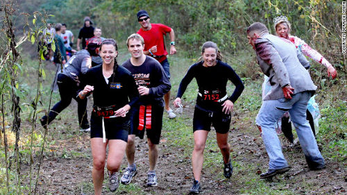 The Zombie Run 1