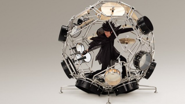 The amazing Raijin Drum Kit Prototype