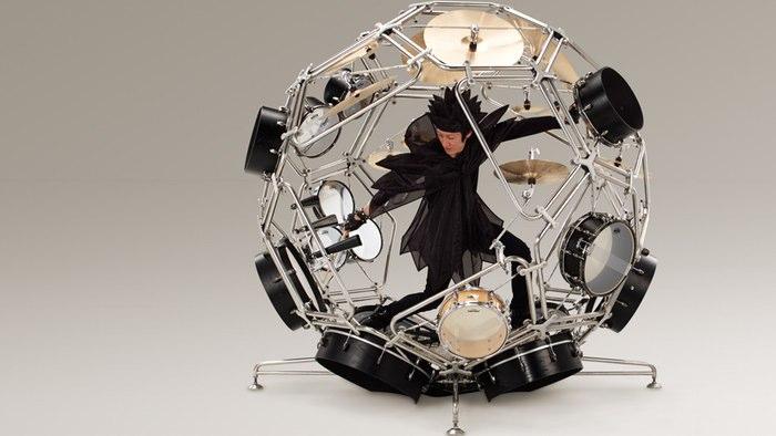 The amazing Raijin Drum Kit Prototype