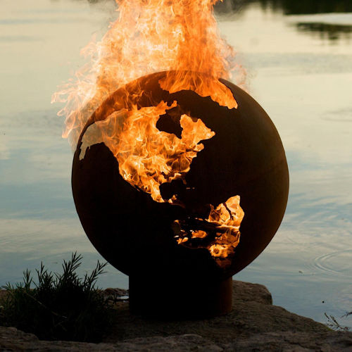 Third Rock Fire Pit - Earth
