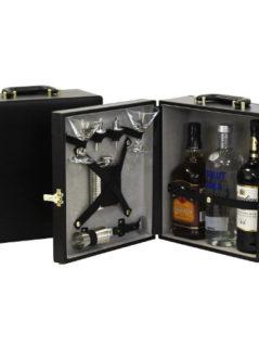Three Bottle Portable Travel Bar 1
