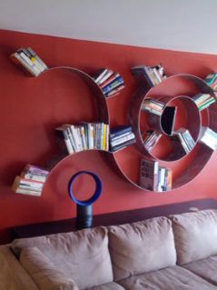 Trailing Spiral Bookshelf 1