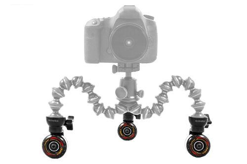 Cinetics Cineskates Camera Dolly Wheels Agazoo