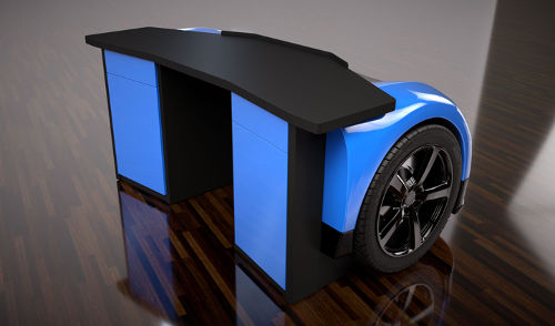 Unique Racing Desk 2