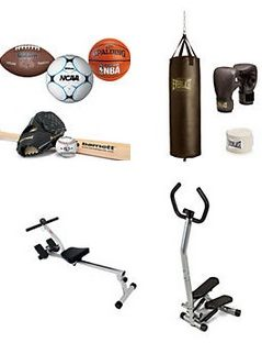 Kmart carries a wide variety of sporting goods and fitness equipment so you can stay active.