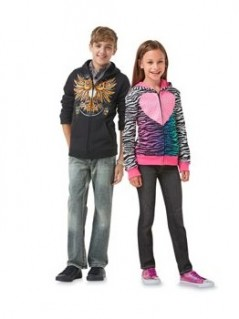 Up to 30 percent off on Kids Fall apparel!