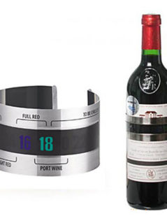 Wine Bracelet Thermometer 1