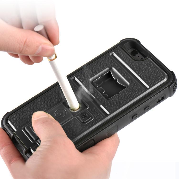 built in cigarette lighter bottle opener iphone 6s plus. Black Bedroom Furniture Sets. Home Design Ideas