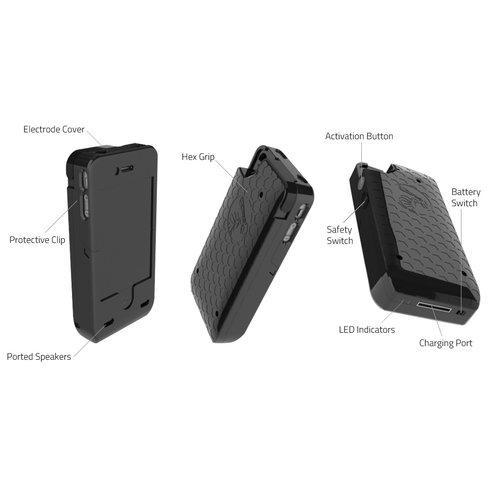 iPhone 4-4S Stun Gun Case 2